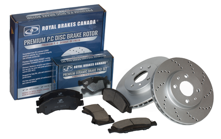 Brake Pads and Disc Rotors - Noise Free Braking